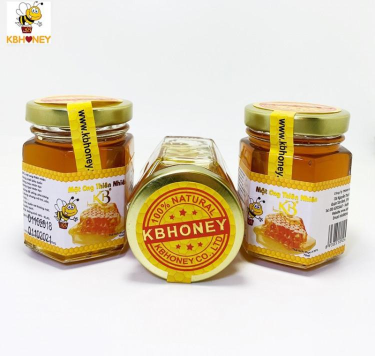 Combo 3 lọ mật ong nguyên chất KB 70ml 1 Lọ 1