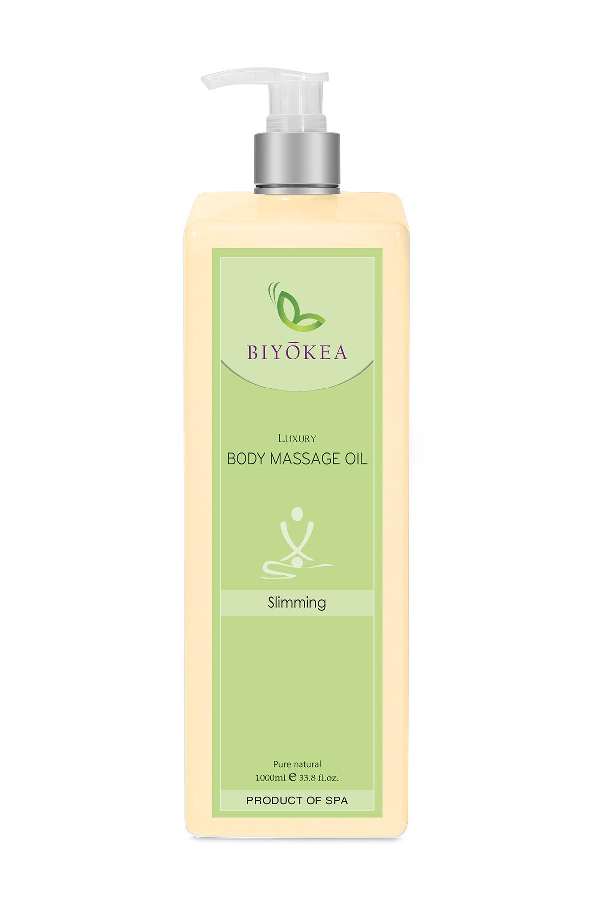 Dầu Massage Body Luxury - Slimming Oil (làm ốm) - 1000ml