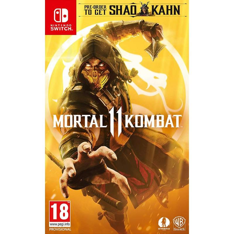 Game Nintendo Switch Mortal Kombat 11- Hàng Nhập Khẩu
