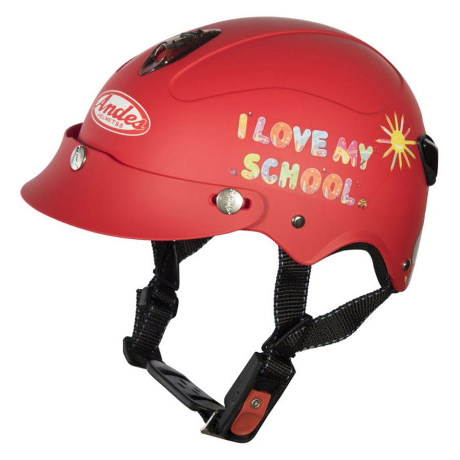 Mũ Bảo Hiểm Trẻ Em Andes 3S108S Tem Nhám S83