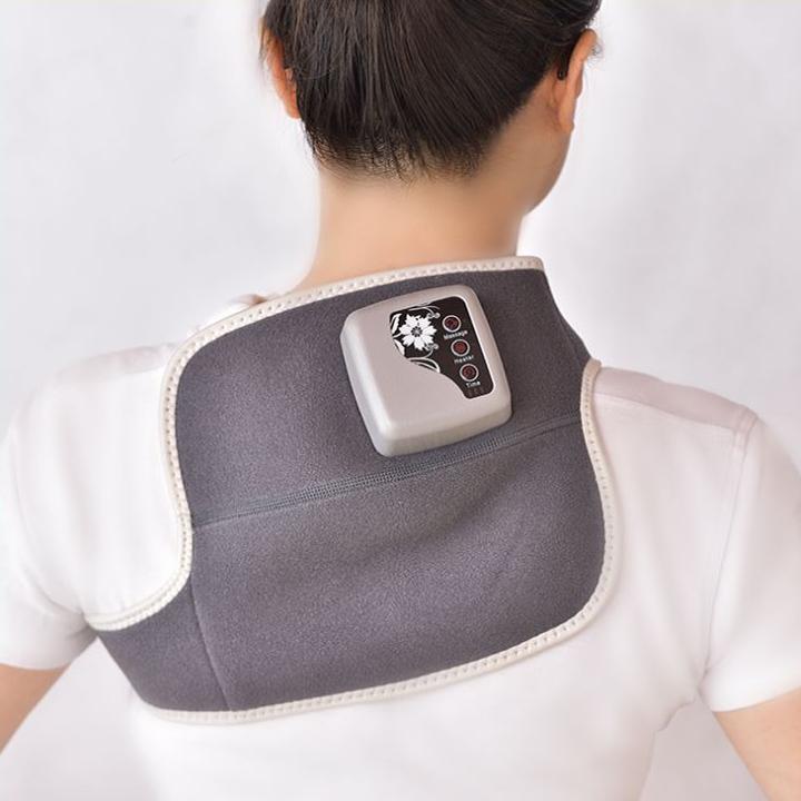 Máy Massage hỗ trợ khớp gối, khớp khuỷu tay và vai đa năng(Tặng kèm 1 máy massage thư giãn đầu óc-giao màu ngẫu nhiên)