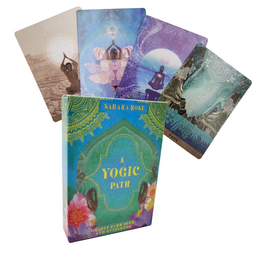 Bộ Bài Bói Tarot A Yogic Path Oracle Deck Cao Cấp