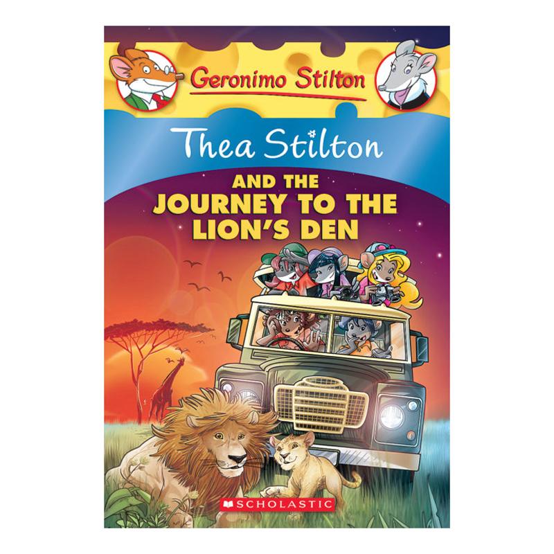 Thea Stilton Book 17: Thea Stilton And The Journey To The Lion'S Den