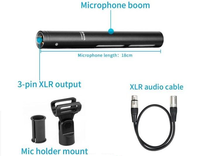 Micro thu âm shotgun BOYA BY-BM6060L hàng chính hãng.