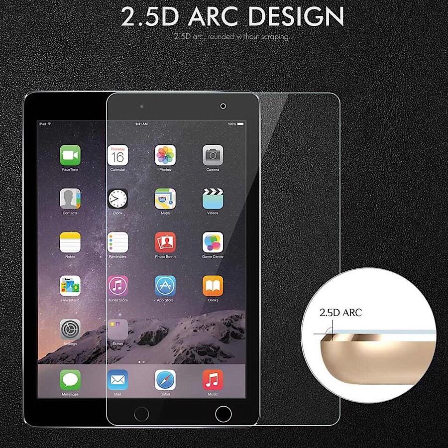Miếng dán cường lực bảo vệ màn hình cho iPad Pro 9.7 inch (9H / 2.5 D / 0.26 mm) - hàng nhập khẩu