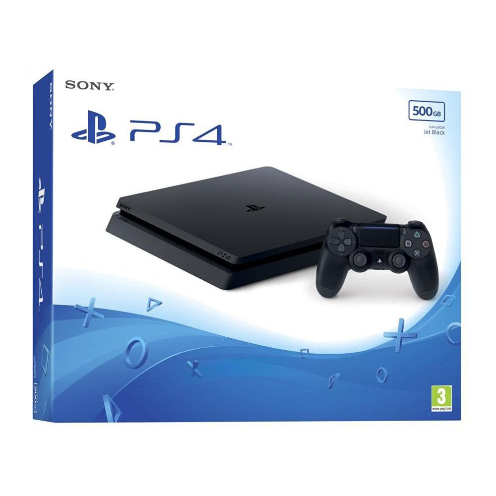 Bộ Máy Chơi Game Playstation 4 Slim Model 2218A (500GB) Kèm Đĩa Game Horizon Zero Dawn Complete Edition - Chính Hãng