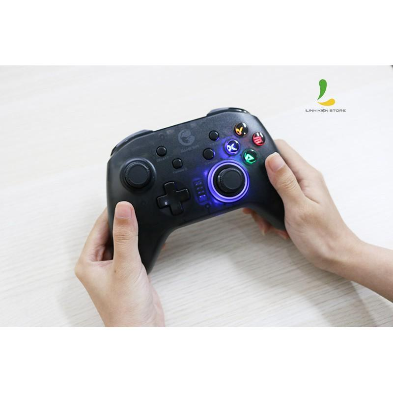 Gamesir T4 Pro | Tay cầm chơi game chuẩn MFI, 6 Axies Gyro hỗ trợ iOS, Android, PC, Switch - Hàng Nhập Khẩu