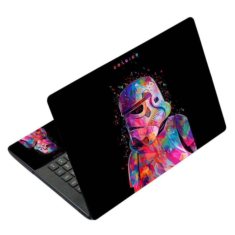 Miếng Dán Decal Dành Cho Laptop Mẫu Hoạt Hình LTHH-231