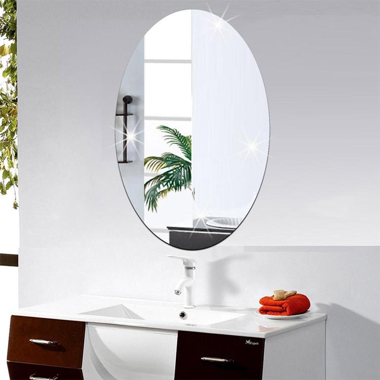 Gương Phòng Tắm Cao Cấp Viền Thoi (Kiếng Cường Lực 5mm) 103A (30 x 45 cm)