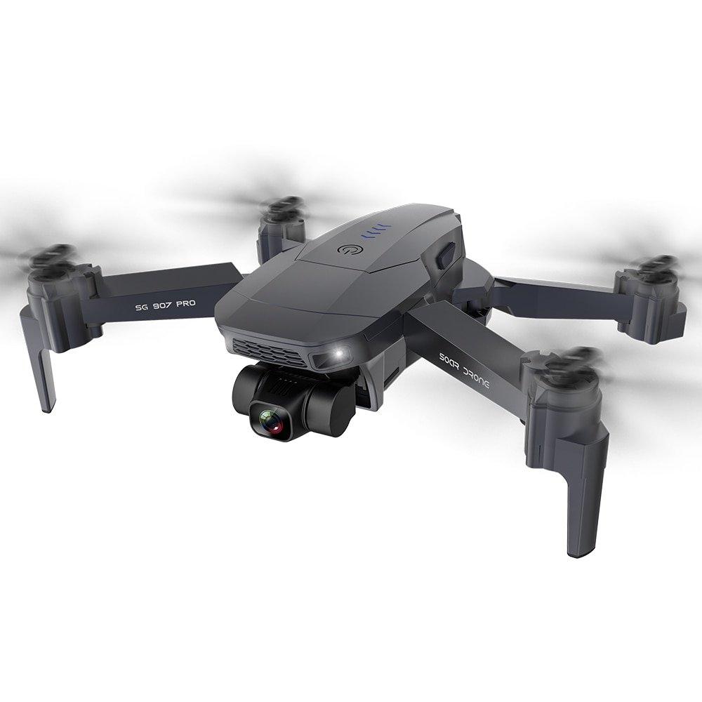 Máy bay Flycam SG907 Pro động cơ không chổi than, Gimbal 2 TRỤC, Camera 4K HD GPS 5G, ZOOM 50x, Thời gian bay 20 PHÚT, Hai CAMERA KÉP - Hàng chính hãng