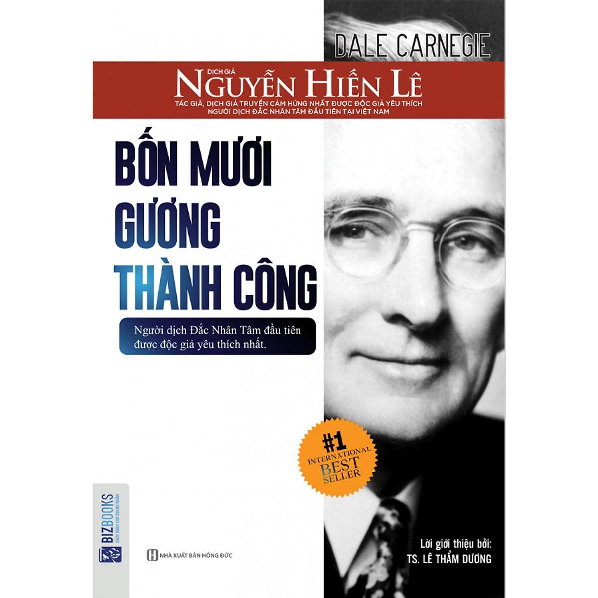 Bốn Mươi Gương Thành Công - Nguyễn Hiến Lê ( tặng kèm Bookmark tuyệt đẹp )