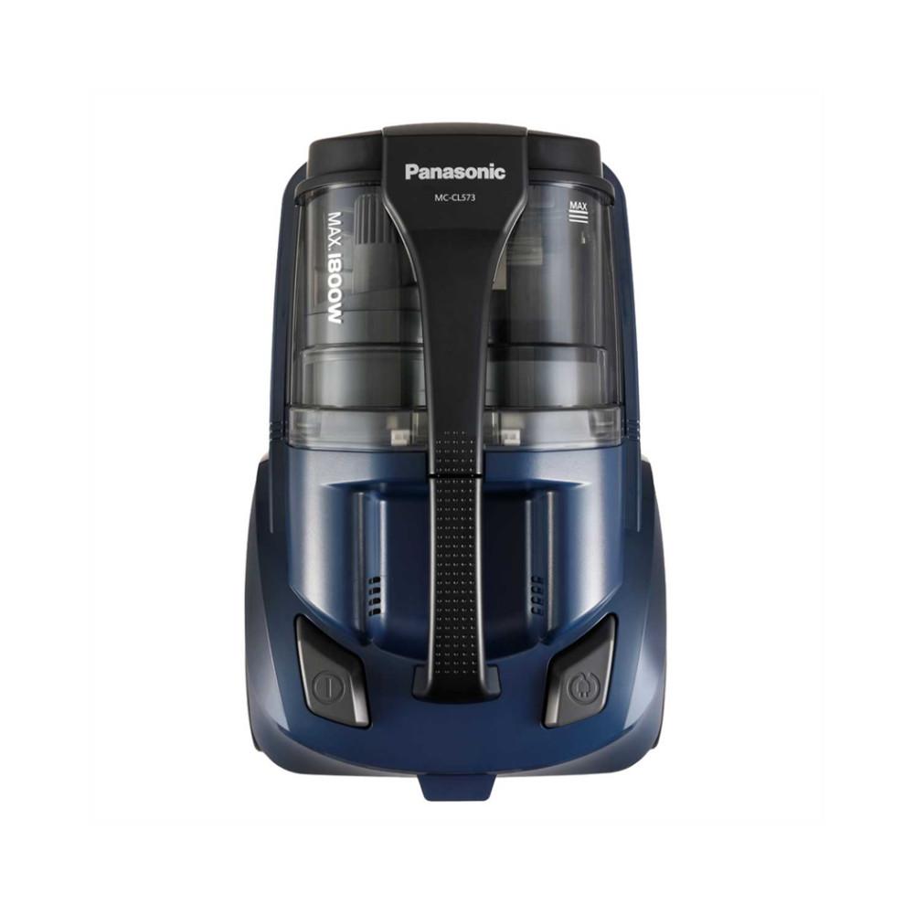 Máy Hút Bụi Panasonic MC-CL573AN49 1800W - Hệ thống lọc 5 lớp - Công suất hút mạnh mẽ - Sản xuất tại Nhật Bản - Hàng Chính Hãng