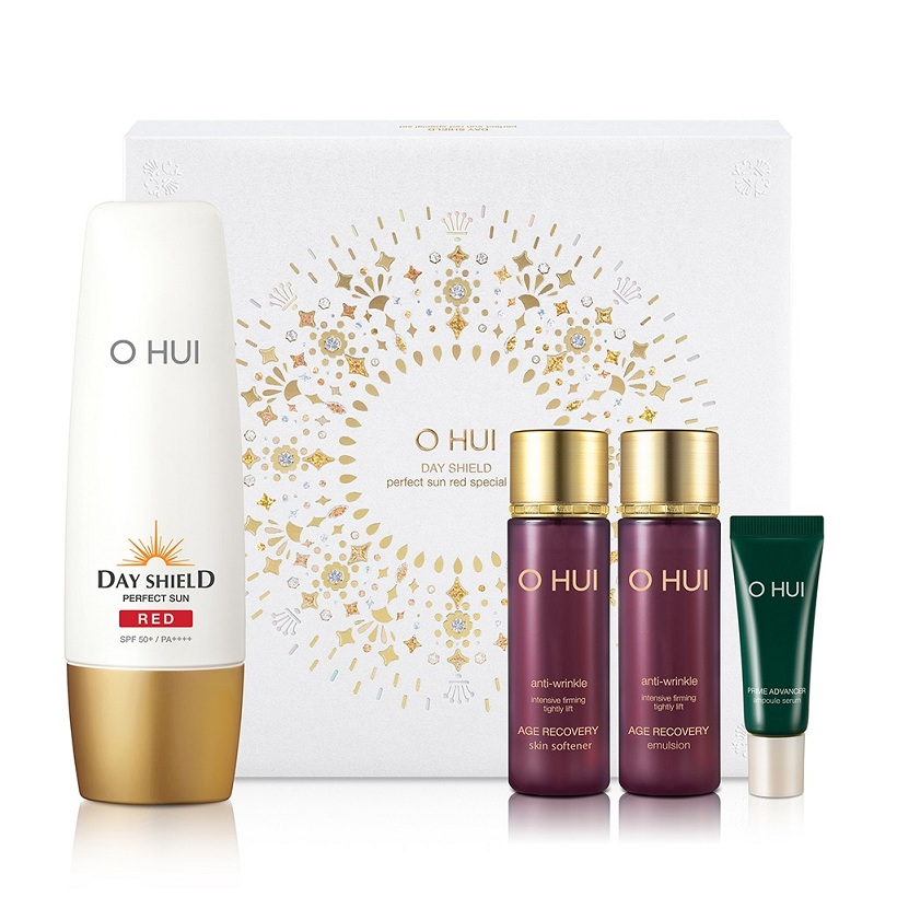 Bộ Chống Nắng 4 Món OHUI Day Shield Perfect Sun Red Special Set 94ml (Age Recovery)_FI50299474