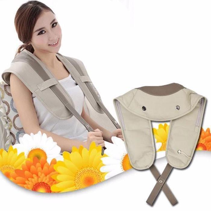 Máy massage đấm bóp lưng, cổ, vai gáy Neck Shoulder W-808 - 2kg