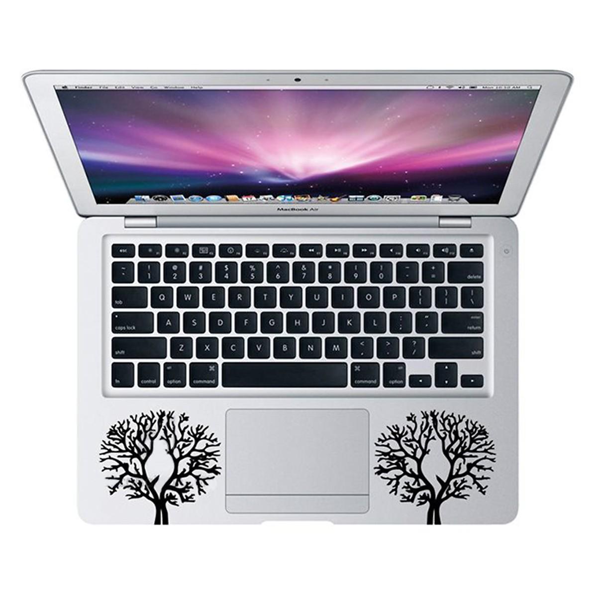 Mẫu Dán Decal Macbook - Nghệ Thuật Mac 18 cỡ 13 inch