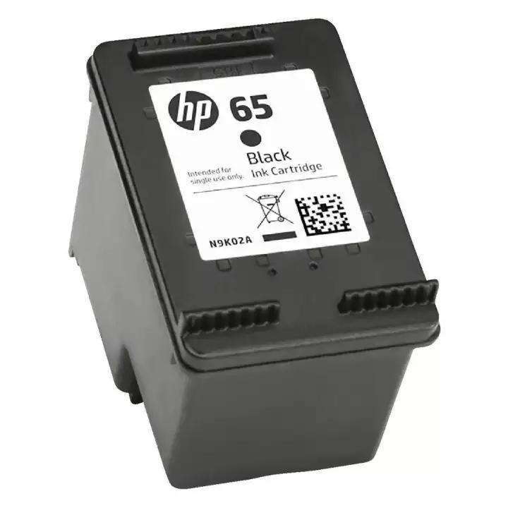 Mực in đen HP 65 Black Ink Catridge (Máy in HP Deskjet 2620/2621/2622/2623/37233724/5030/5032/5034)-N9K01AA – Hàng chính hãng
