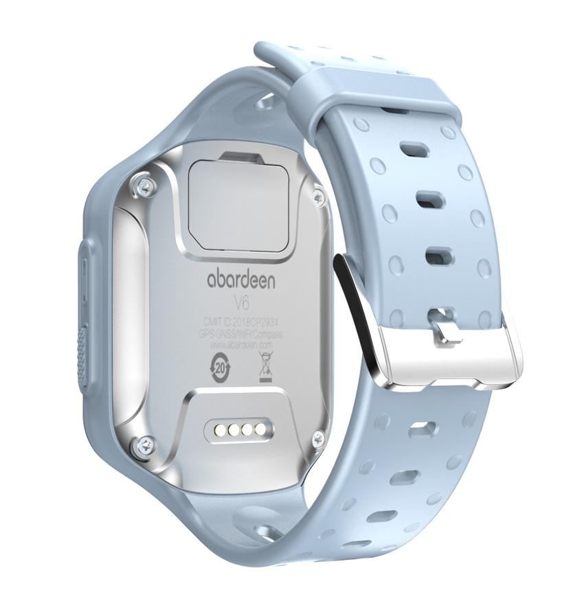 Đồng hồ thông minh abardeen V7 4G IPX7 Màu Xanh Ice - Hàng Nhập Khẩu
