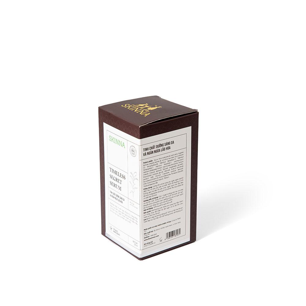 Tinh Chất Dưỡng Sáng Da Và Ngăn Ngừa Lão Hóa SKINNA - Timless Secret Serum 30 ml