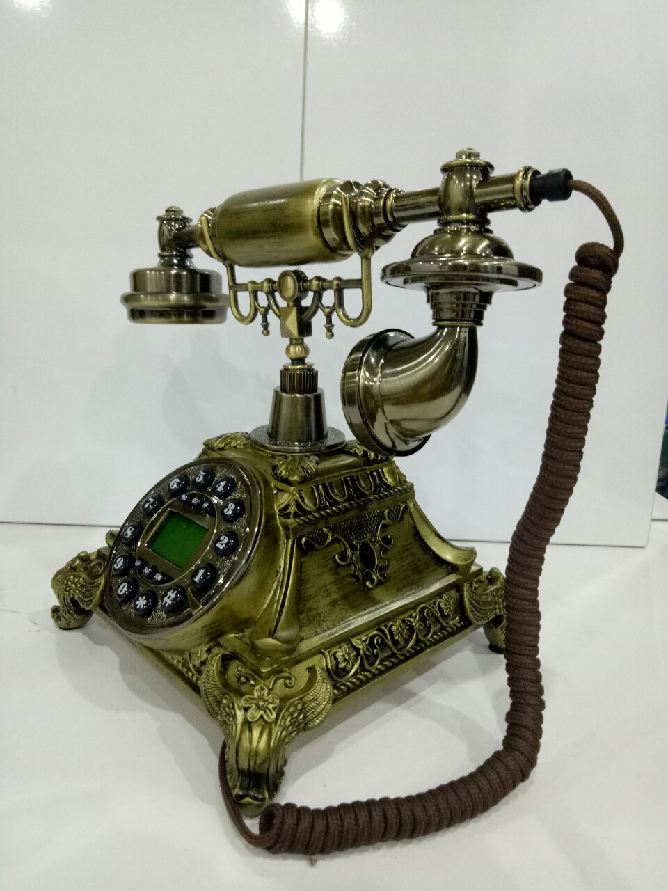 Điện thoại bàn tân cổ điển MS2 ( NGHE GỌI BẰNG DÂY LINE)