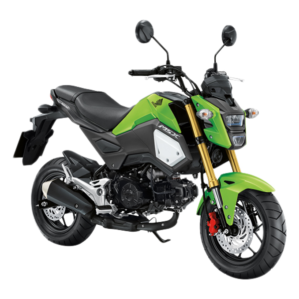 Xe Máy Honda MSX 125cc 2018 (Xanh lá cây đen)