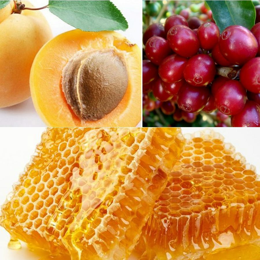 Tẩy da chết dành cho mặt chiết xuất mật ong và cà phê Zelenaya Apteka Face Scrub honey & coffee 75ml