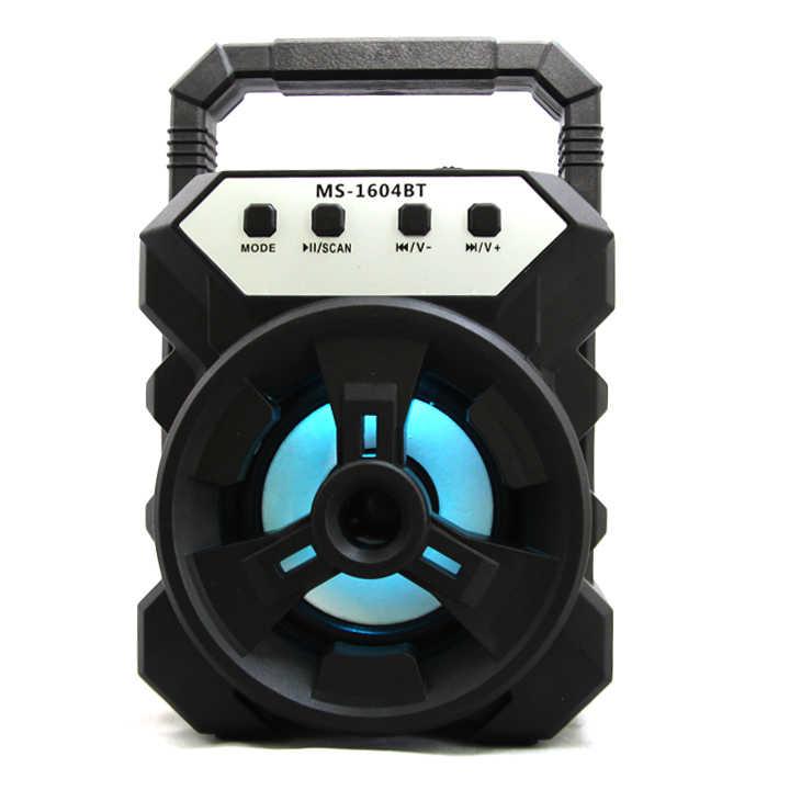 Loa Bluetooth Xách Tay MS-1604BT Âm Thanh Cực Đỉnh Nhỏ Gọn Trong Tầm Tay