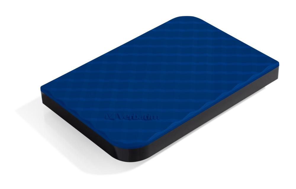 Ổ cứng di động Verbatim 2.5' USB 3.0 1TB (Xanh dương) - Hàng chính hãng