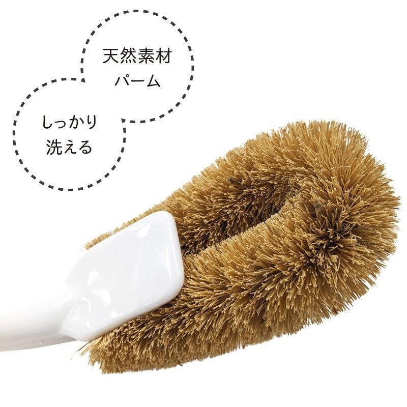 Combo 02 Chổi cọ rửa bồn cầu, toilet, nhà vệ sinh hàng Nhật Bản