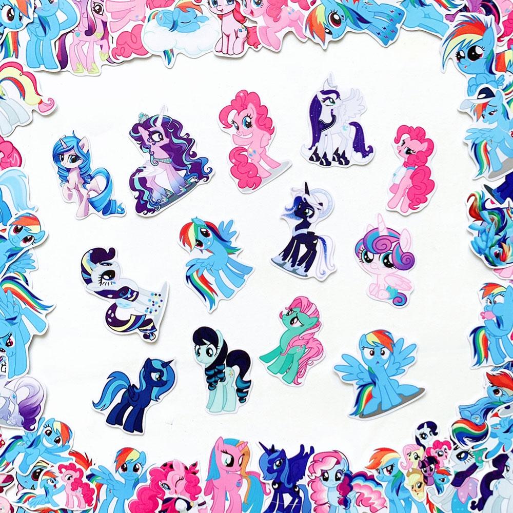 Bộ 20 Sticker Pony (2020) Hình Dán Chủ Đề Ngựa Một Sừng Chống Nước Decal Chất Lượng Cao Trang Trí Va Ly Du Lịch Xe Đạp Xe Máy Xe Điện Motor Laptop Nón Bảo Hiểm Máy Tính Học Sinh Tủ Quần Áo Nắp Lưng Điện Thoại
