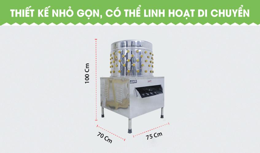 Máy Vặt, Nhổ Lông Gà Vịt Ngan NEWSUN 70 Cm - Hàng Chính Hãng