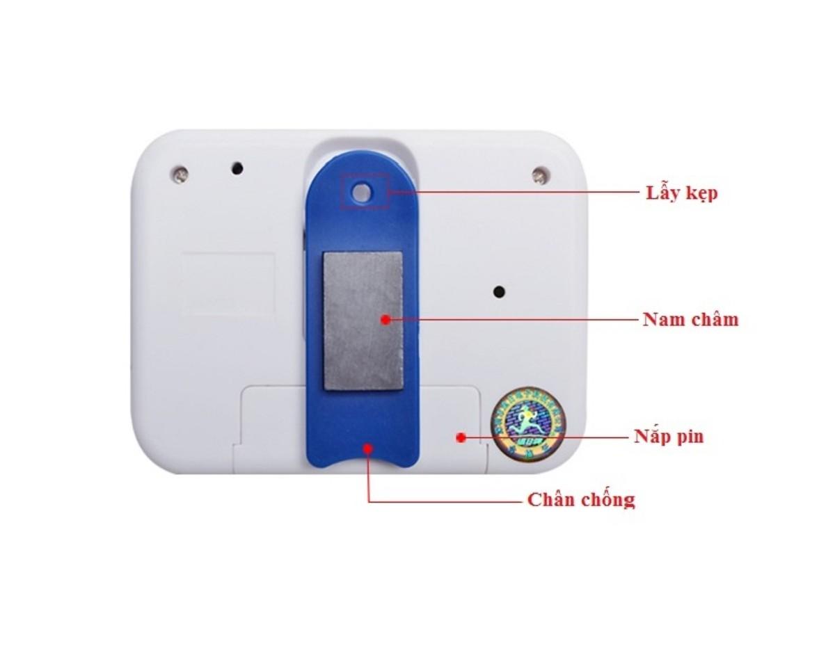 Đồng hồ đếm ngược Canino PS -360 tiện lợi thông minh ( kèm pin )