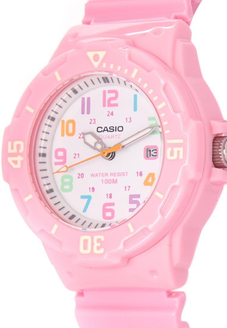 Đồng hồ nữ dây nhựa Casio LRW-200H-4B2VDF