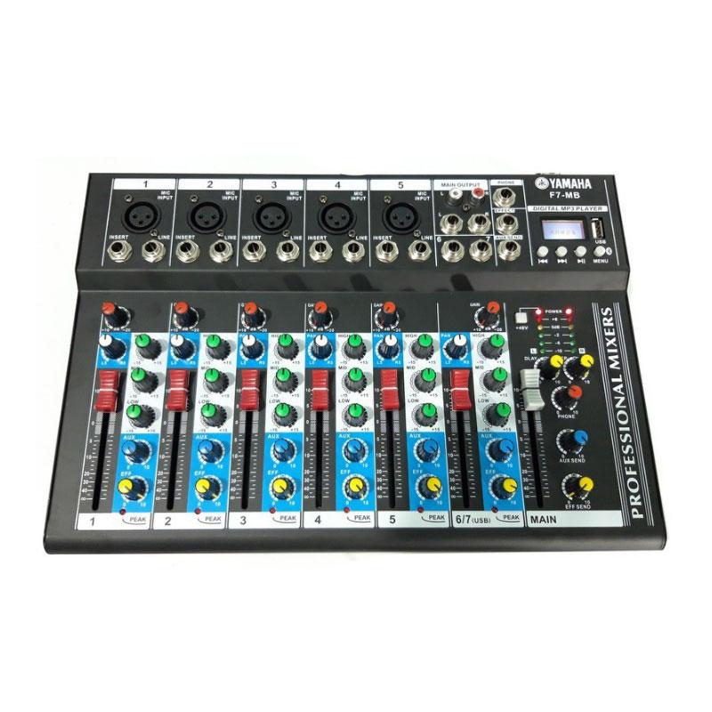Mixer Yamaha Bluetooth F7- MB.