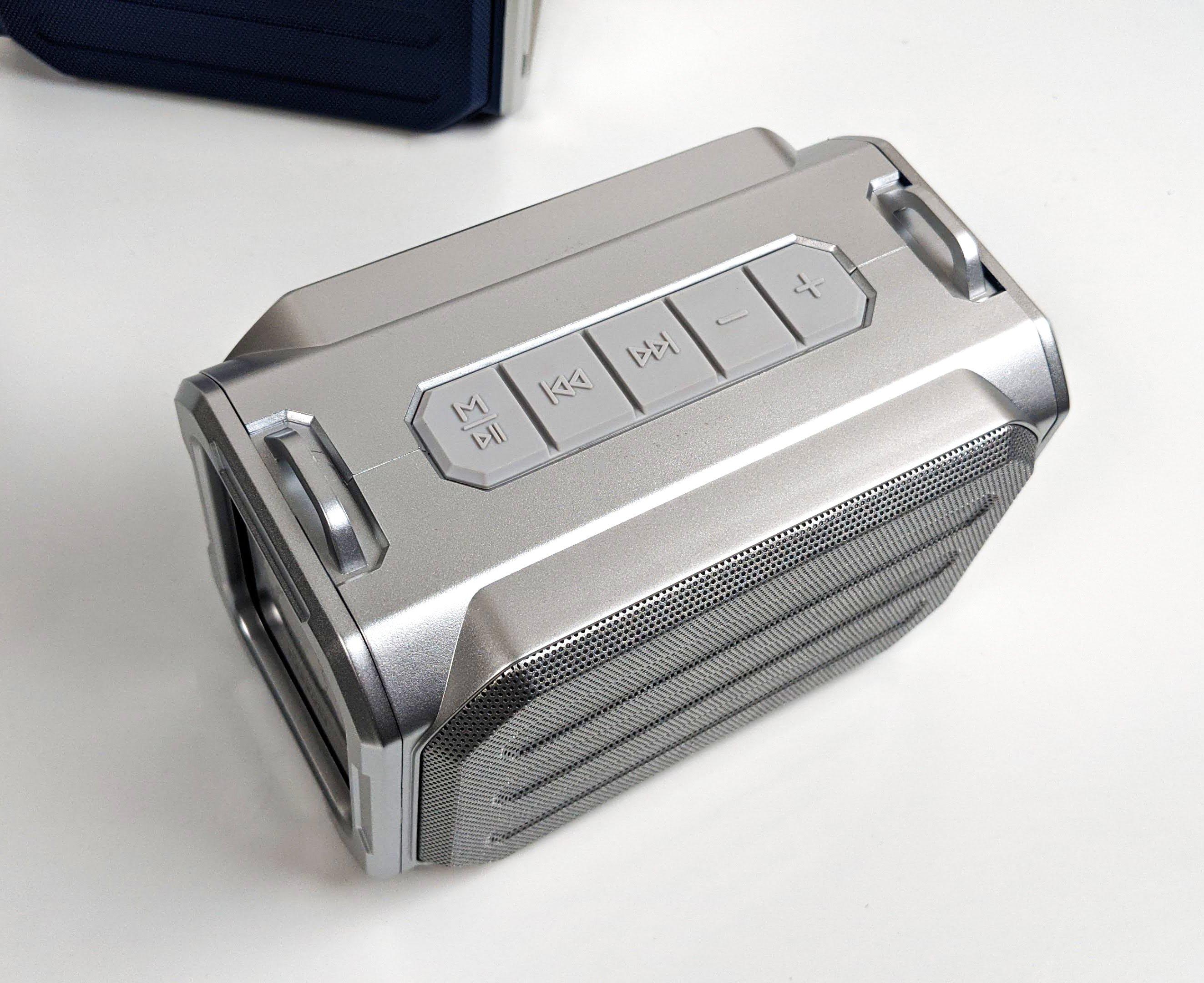 Loa Bluetooth Cao Cấp LANITH S159 - L000S159W - Tặng Kèm Cáp Sạc 3 Đầu - Thiết Kế Thời Trang, Nhỏ Gọn, Dây Đeo Chéo Vai - Âm Thanh Chất Lượng, Bass Trầm Ấm - Chống Thấm Nước - Hàng NHập Khẩu