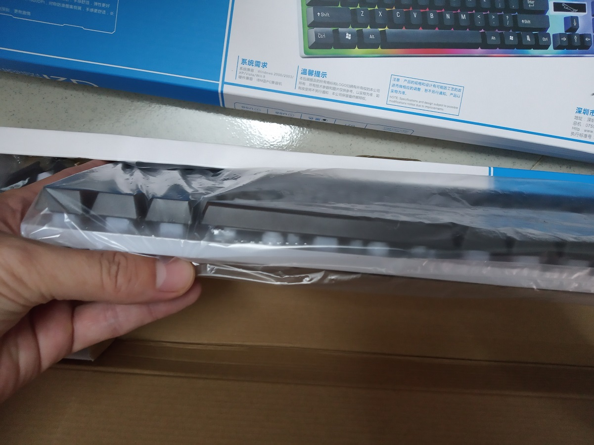 Bộ chuột và bàn phím giả cơ G21 - Hàng nhập khẩu