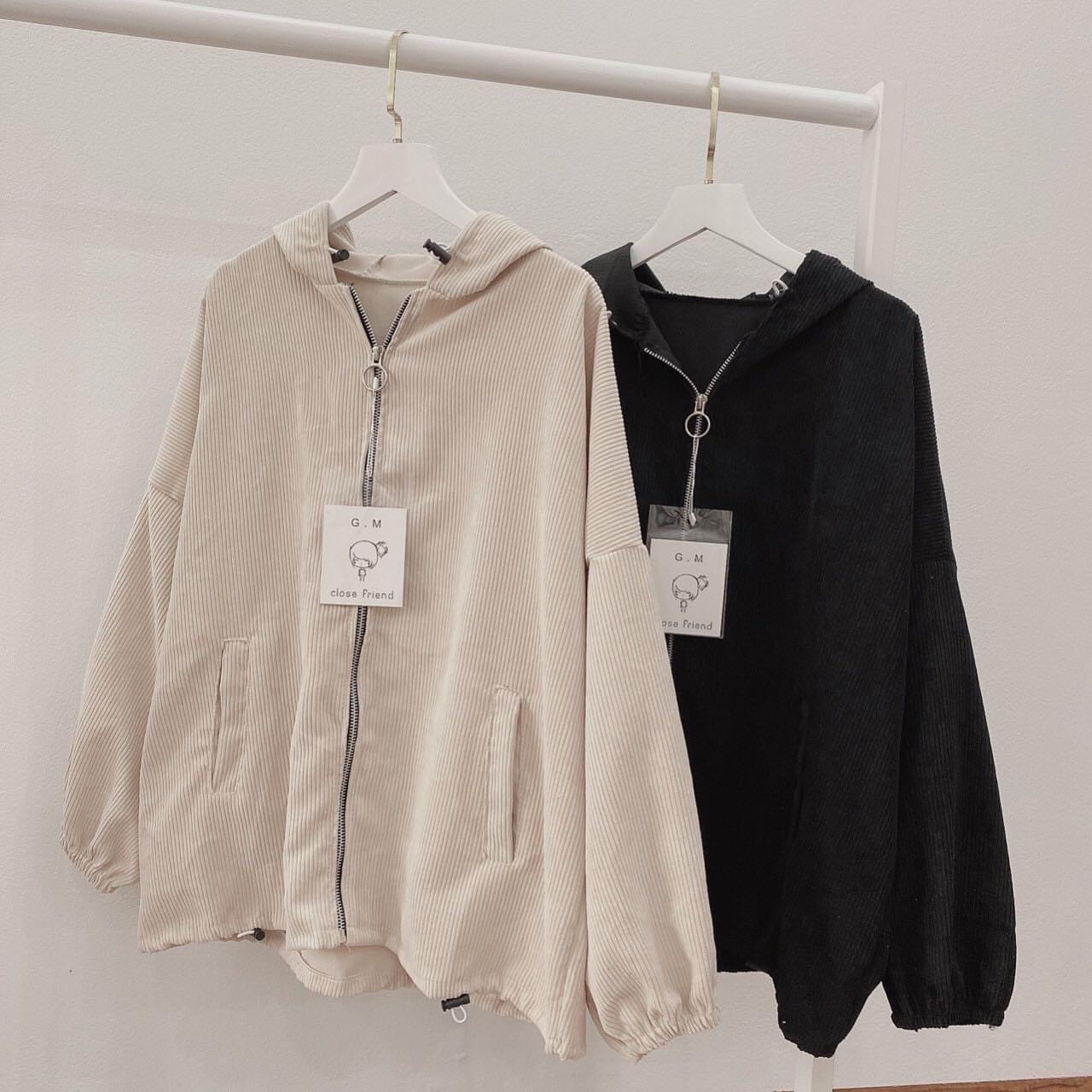 Áo khoác nhung nữ , áo khoác nữ chống nắng chống lạnh tốt , vải nhung dày , mịn