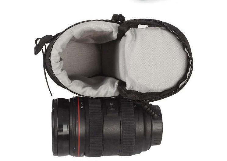 Túi đựng lens máy ảnh hình ống trúc