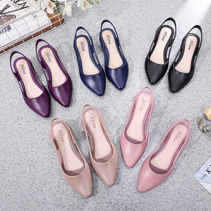 Giày nhựa nữ,giày búp bê nữ nhựa dẻo cao cấp TIZINIS ND22
