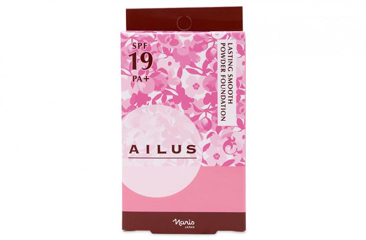 Phấn nền siêu mịn lâu trôi Naris Ailus Lasting Smooth Powder Foundation