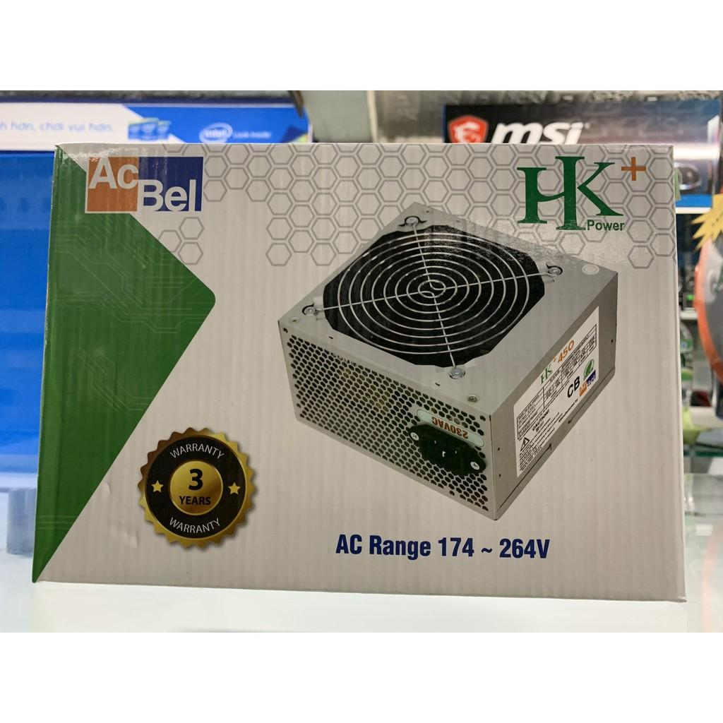 Nguồn Acbel HK+ 400W + Dây nguồn