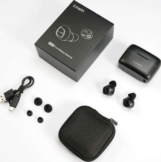 Tai nghe không dây Cowin KY02 bluetooth v5.0, chống nước IPX5, thời gian sử dụng 36h - Hàng chính hãng