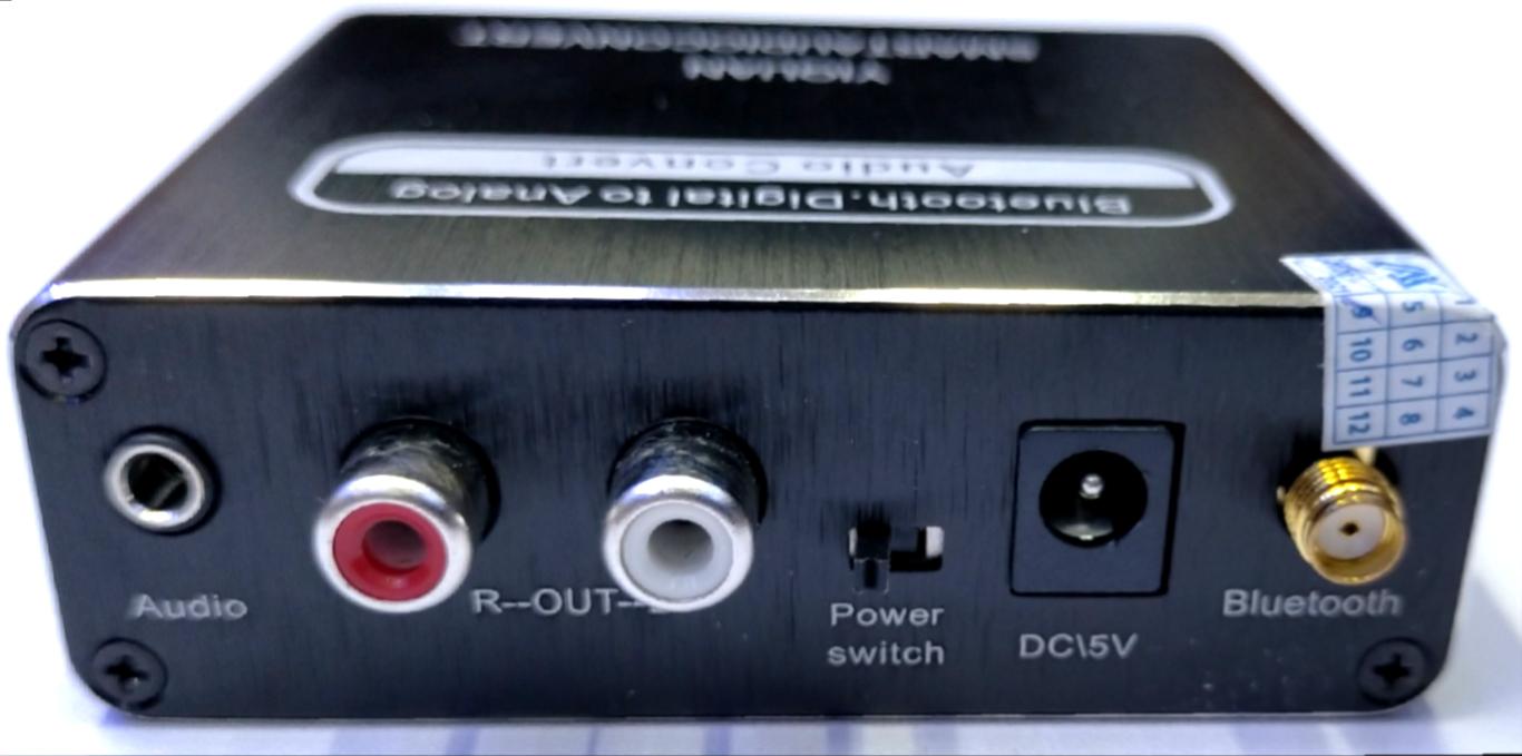 Bộ chuyển đổi âm thanh 3 trong 1 ( Bluetooth , Optical , USB ra AV )