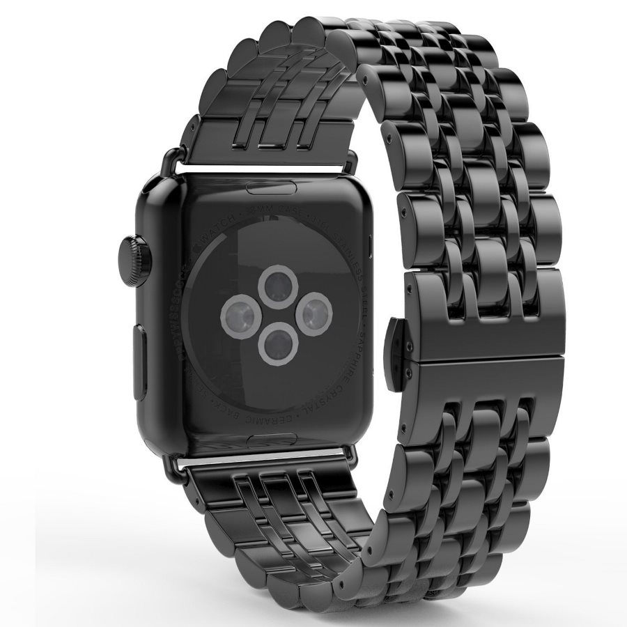 Dây đồng hồ dành cho Apple Watch 44mm/42mm thép không gỉ mắt xích