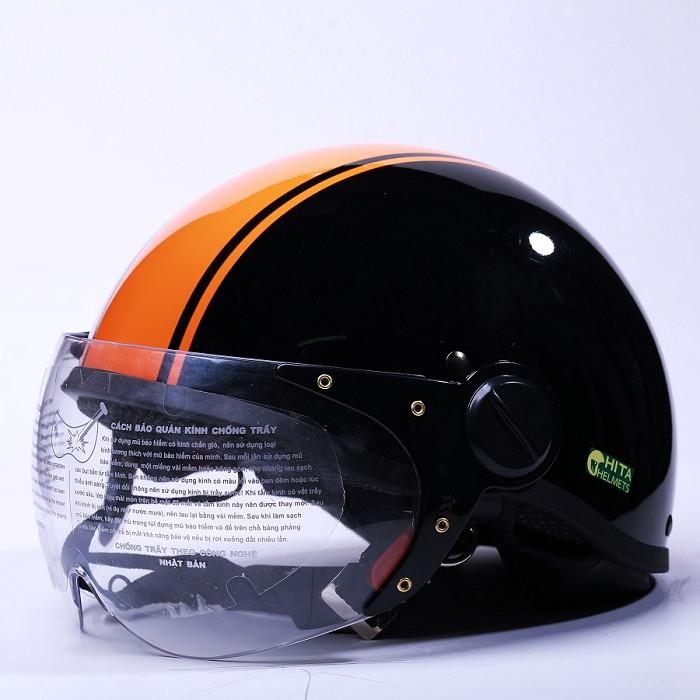 Mũ bảo hiểm Chita CT6HD (Kính) - Freesize