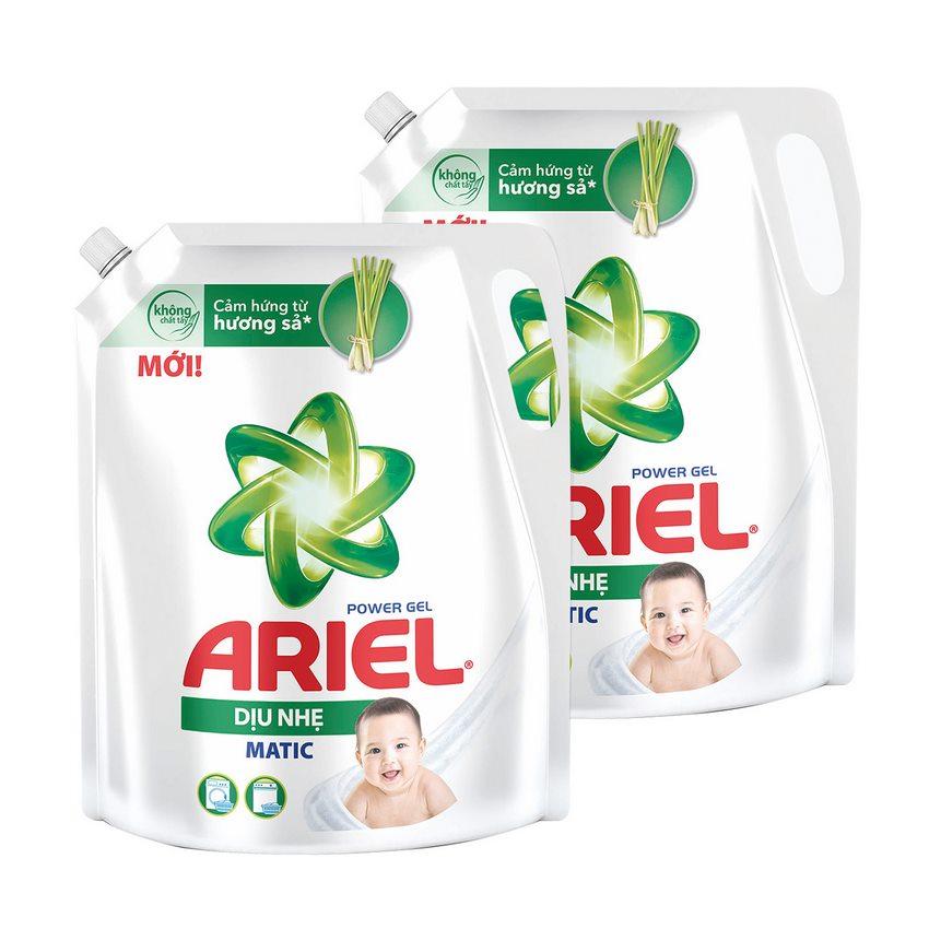 Combo 2 Nước Giặt Ariel Sensitive Cho Da Nhạy Cảm 2.15kg