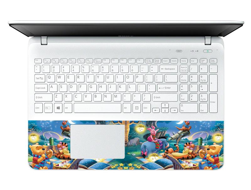 Mẫu Dán Decal Laptop Hoạt Hình LTHH-120