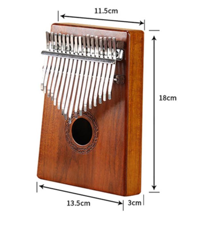 Đàn Kalimba 17 Phím Mahogany SP908 -Tặng Túi Nhung Bảo Vệ Đàn