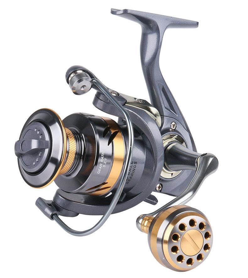 Bộ cần câu cá - Cần xanh carbon cao cấp 2m1 - Kèm máy kim loại Deukio AR4000 - Tặng kèm 9 phụ kiện