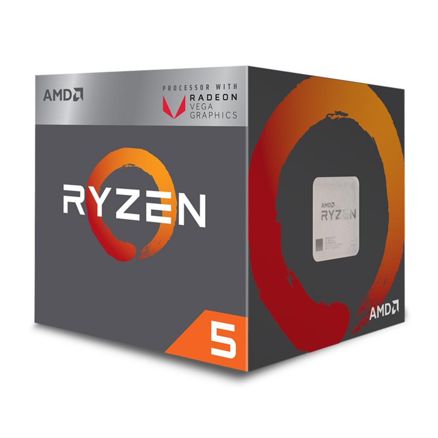 Bộ vi xử lý CPU AMD Ryzen 5 2400G - Hàng Chính Hãng | Tiki.vn