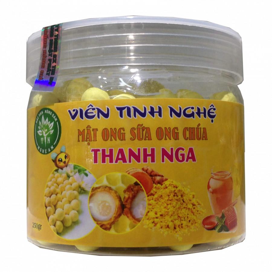 Thực phẩm chức năng Viên tinh bột nghệ mật ong – sữa ong chúa Thanh Nga (250g)